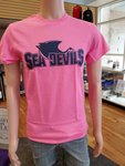 Sea Devil Athletic Logo Tee