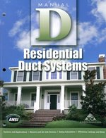 (Manual D) RESIDENTIAL DUCT SYSTEMS (P)