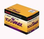 Kodak Professional 100 Tmax Black and White Negative Film (ISO 100) 35mm 36 Exposures (8532848)