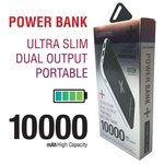 Battery Bank 10,000mAh for phones