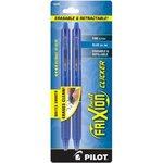 Erasable Blue Gel 2-Pack FriXion Click Pens