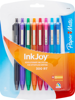 Multicolor Ink 8 Pack Click Pens