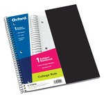 1 Subject 100 Sheet College Ruled Notebook w/ 1 poly pocket