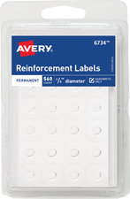 Binder Reinforcement Labels (560 count)